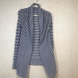 FULL TILT Loosely Knitted Open Cardigan, size XS